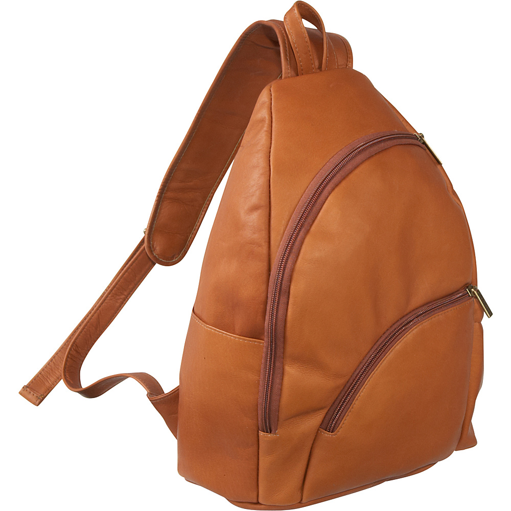 Le Donne Leather Unisex Sling Pack - Tan - Handbags, Manmade Handbags