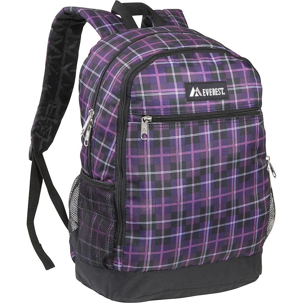 Everest Multi-Compartment Casual Backpack - Purple