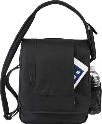 Travelon Anti-Theft Urban N/S Messenger Bag Black - Travelon Messenger Bags