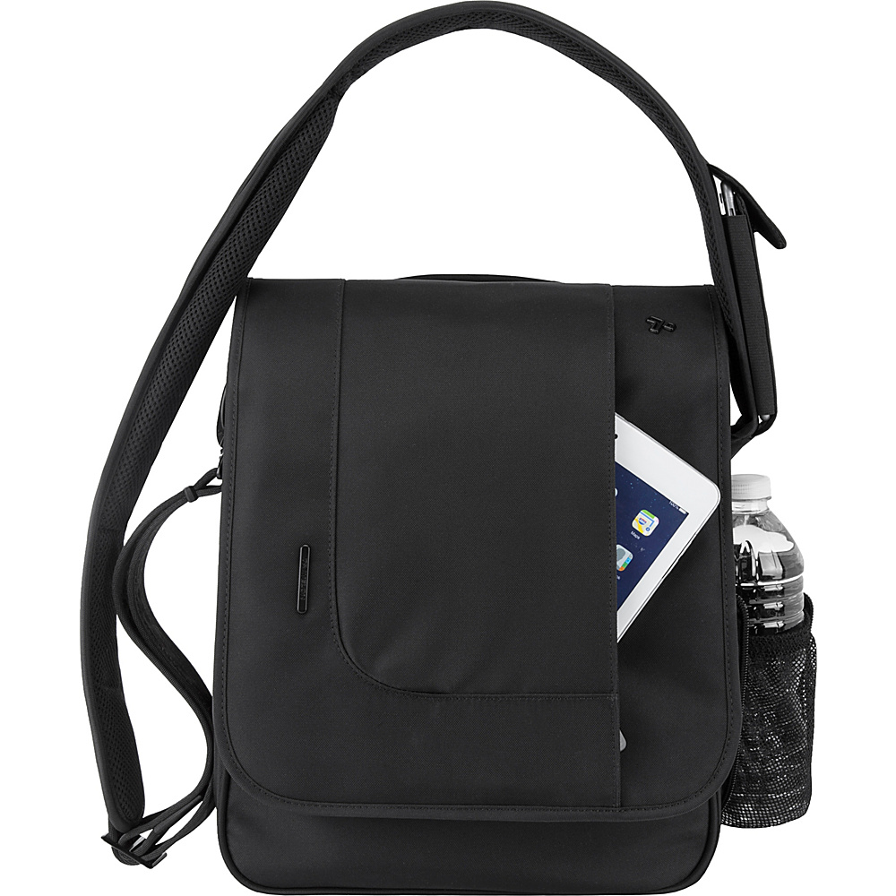 Travelon Anti-Theft Urban N/S Messenger Bag Black - Travelon Messenger Bags - Work Bags & Briefcases, Messenger Bags