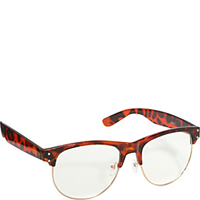 Retro Wayfarer Stylish Sunglasses  Brown Leopard