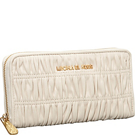 Webster  Zip Around Continental Wallet Vanilla