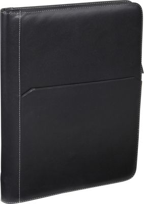 AmeriLeather Leather Writing Portfolio Cover Black - AmeriLeather Business Accessories