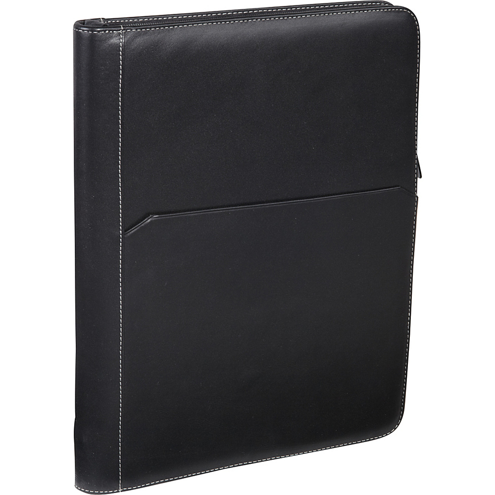 AmeriLeather Leather Writing Portfolio Cover Black - AmeriLeather Business Accessories - Work Bags & Briefcases, Business Accessories