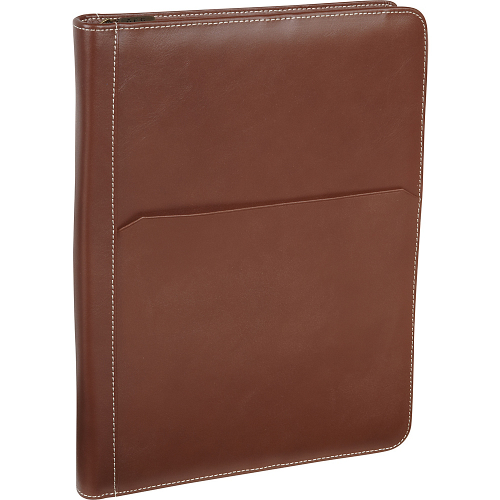 AmeriLeather Leather Writing Portfolio Cover Brown - AmeriLeather Business Accessories - Work Bags & Briefcases, Business Accessories