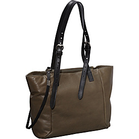 Corinna Day Shopper Moss/Black Saddle