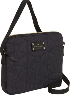 kate spade new york Signature Spade Quilted Bryce iPad Cross-Body