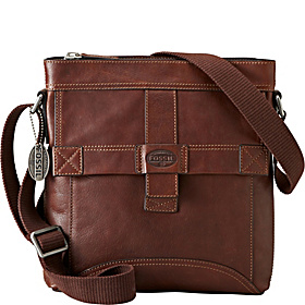 Trail N/S City Bag Dark Brown