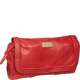 Apolline Clutch With Removable Strap Coral