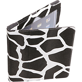 Apple iPad 2 & the New iPad Generation Animal Print Leatherette Stand Folio Giraffe