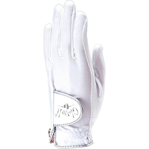 Glove It White Clear Dot Glove White Left Hand Large - Glove It Golf Bags