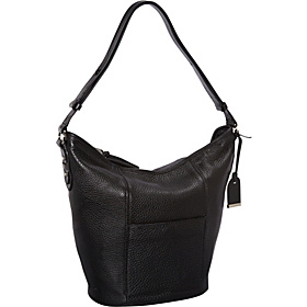 Crosby Convertible Bucket Bag Black