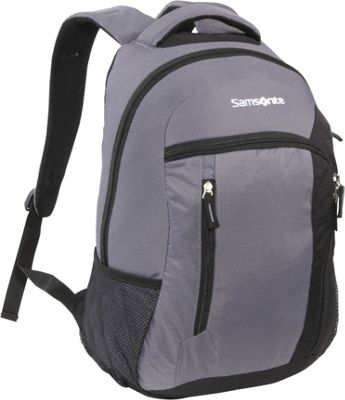 Samsonite Warwick Backpack Dark Grey Samsonite Laptop Backpacks