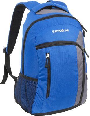 Samsonite Warwick Backpack Blue Spark Samsonite Laptop Backpacks