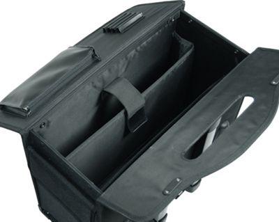 Netpack 18 inch Rolling Laptop Catalog Case Black - Netpack Wheeled Business Cases