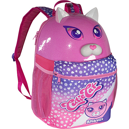 Raskullz Cutie Cat Backpack PINK - Raskullz Kids' Backpacks