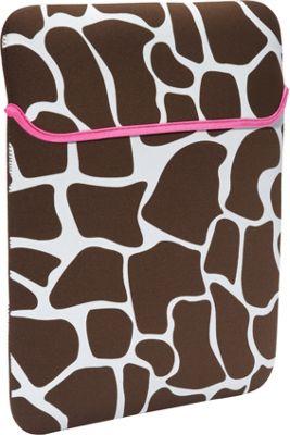 Rockland Luggage iPad Sleeve Pink Giraffe - Rockland Luggage Electronic Cases