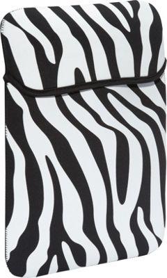 Rockland Luggage iPad Sleeve Zebra - Rockland Luggage Electronic Cases