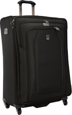 Travelpro Crew 9 29 inch Exp. Suiter Spinner Luggage CLOSEOUT Black - Travelpro Softside Checked