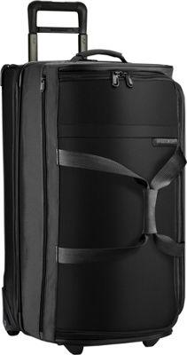Briggs & Riley Baseline Large Upright Duffle Black - Briggs & Riley Large Rolling Luggage