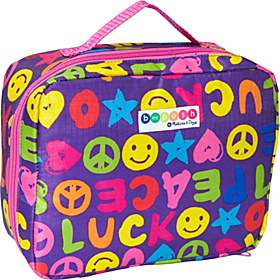 BeePosh Ricky Lunch Bag Multicolor Print