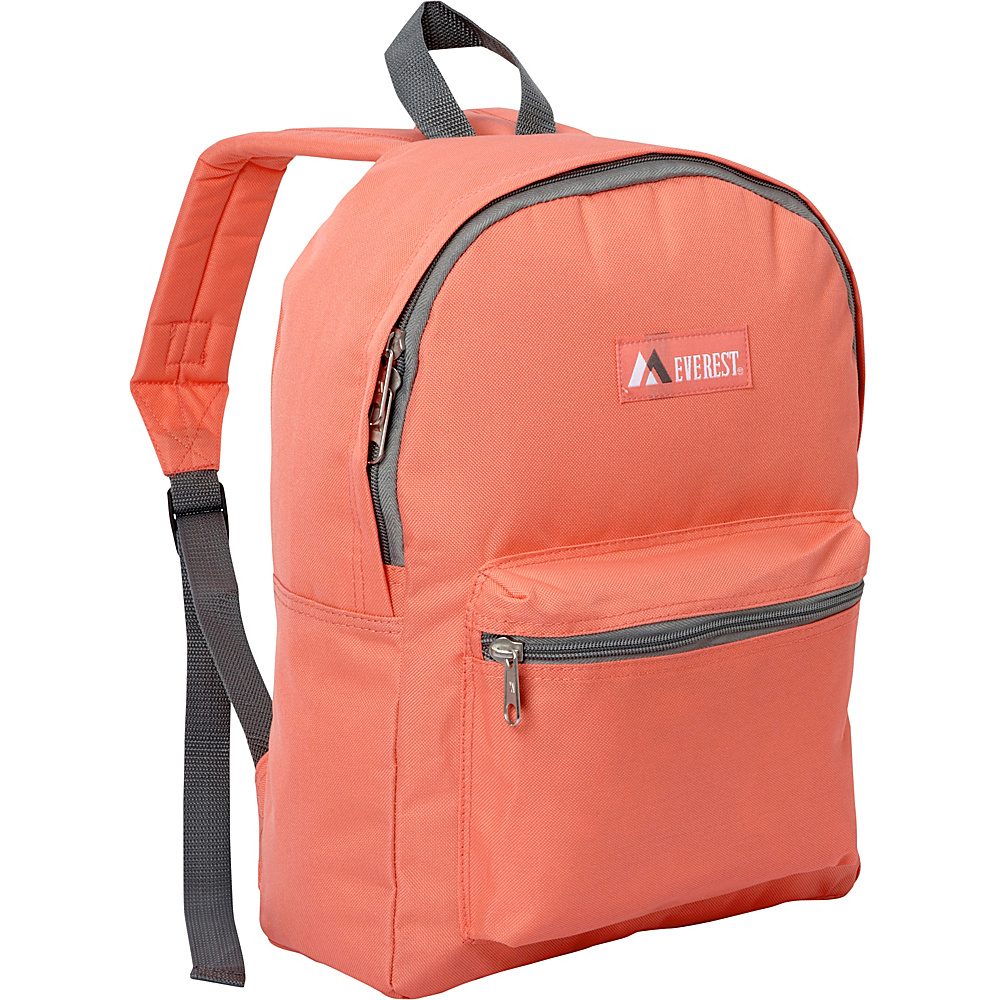 Everest Basic Backpack Coral - Everest Everyday Backpacks - Backpacks, Everyday Backpacks