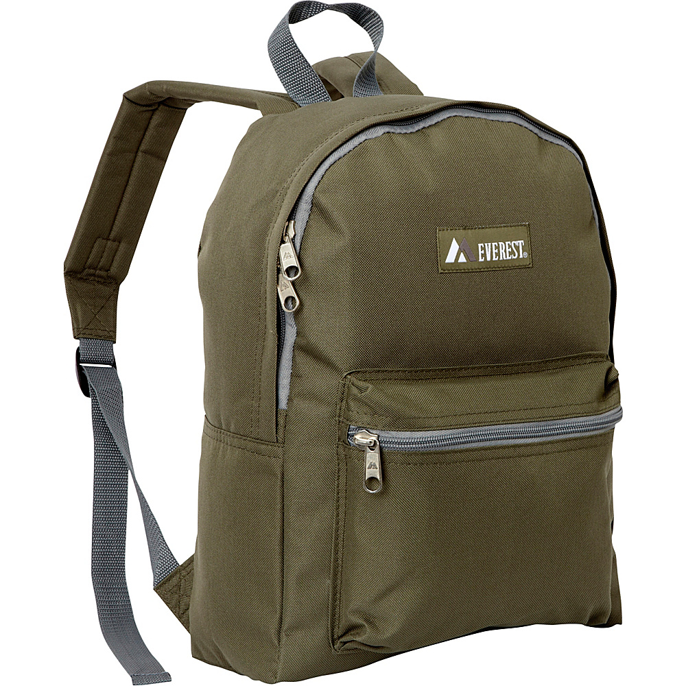 Everest Basic Backpack Olive - Everest Everyday Backpacks - Backpacks, Everyday Backpacks