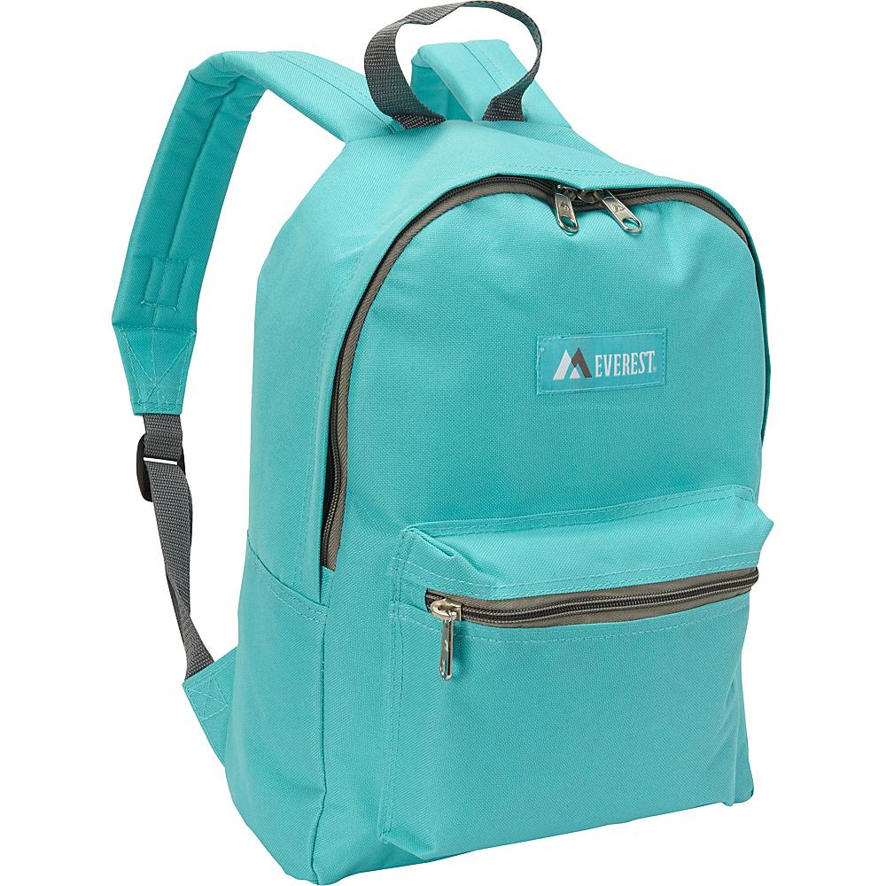 Everest Basic Backpack Aqua Blue - Everest Everyday Backpacks - Backpacks, Everyday Backpacks