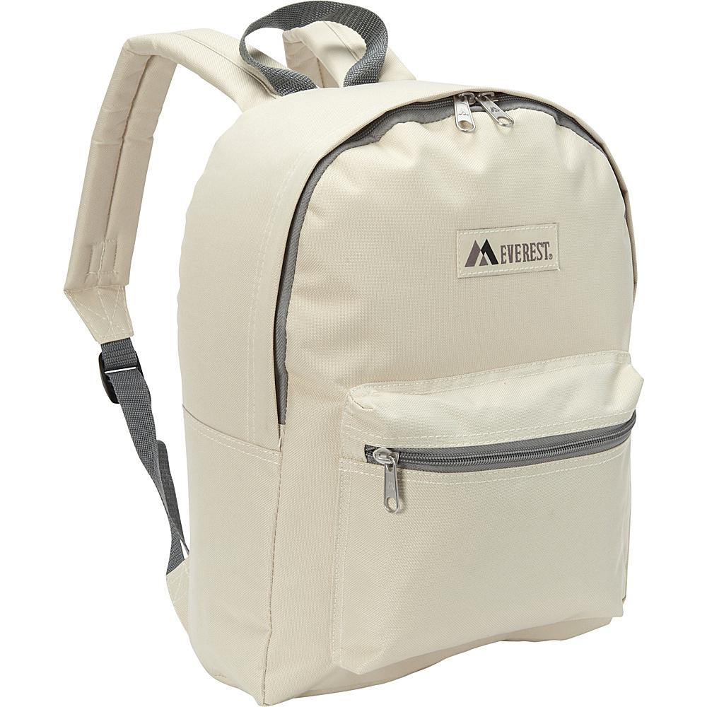 Everest Basic Backpack Beige - Everest Everyday Backpacks - Backpacks, Everyday Backpacks