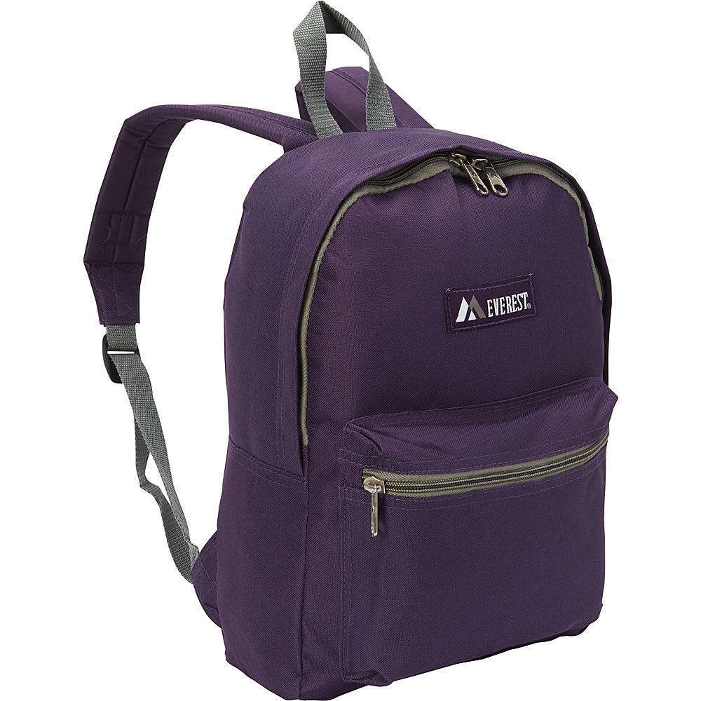 Everest Basic Backpack Eggplant - Everest Everyday Backpacks - Backpacks, Everyday Backpacks