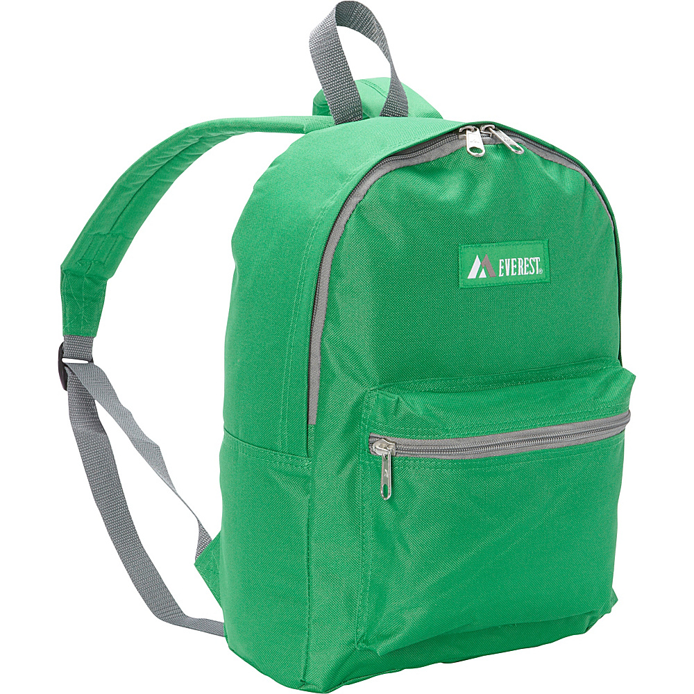 Everest Basic Backpack Emerald Green Everest Everyday Backpacks