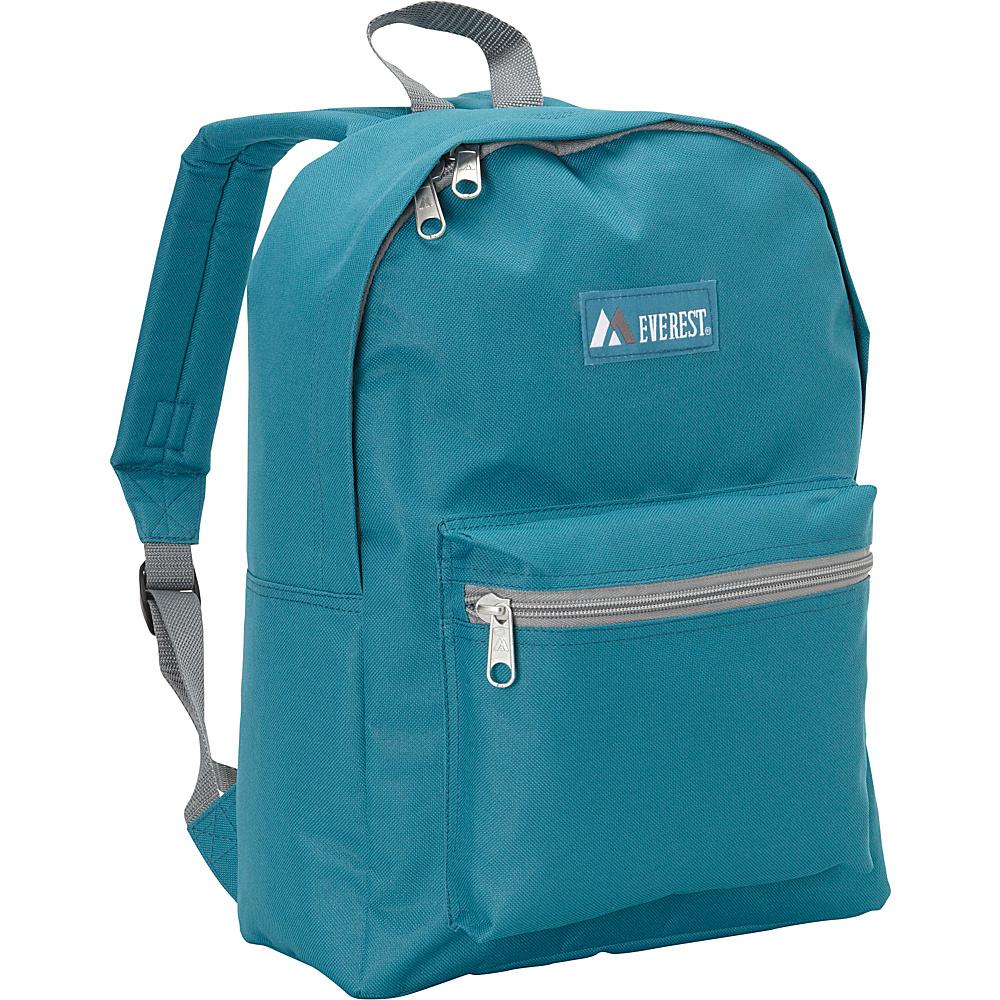 Everest Basic Backpack Dark Teal - Everest Everyday Backpacks - Backpacks, Everyday Backpacks