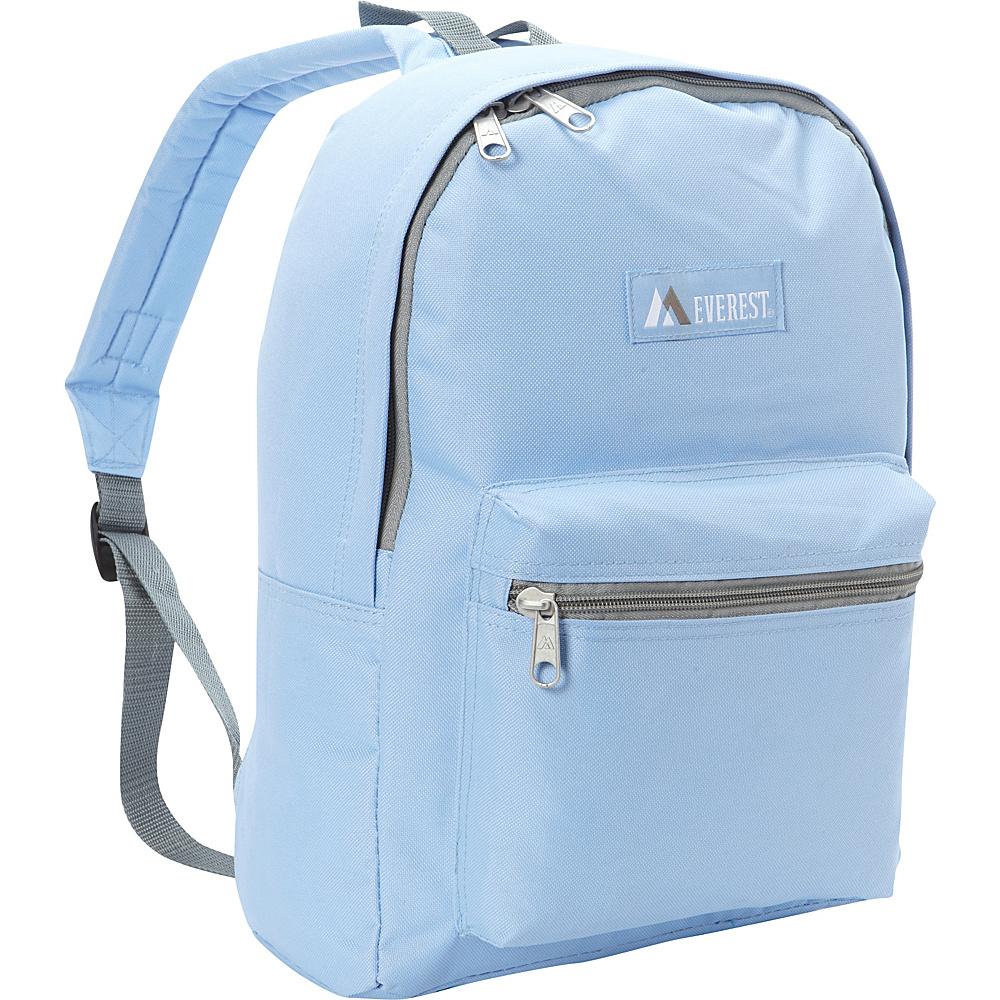 Everest Basic Backpack Sky Blue - Everest Everyday Backpacks - Backpacks, Everyday Backpacks