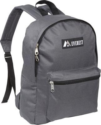 Everest Basic Backpack Charcoal - Everest Everyday Backpacks
