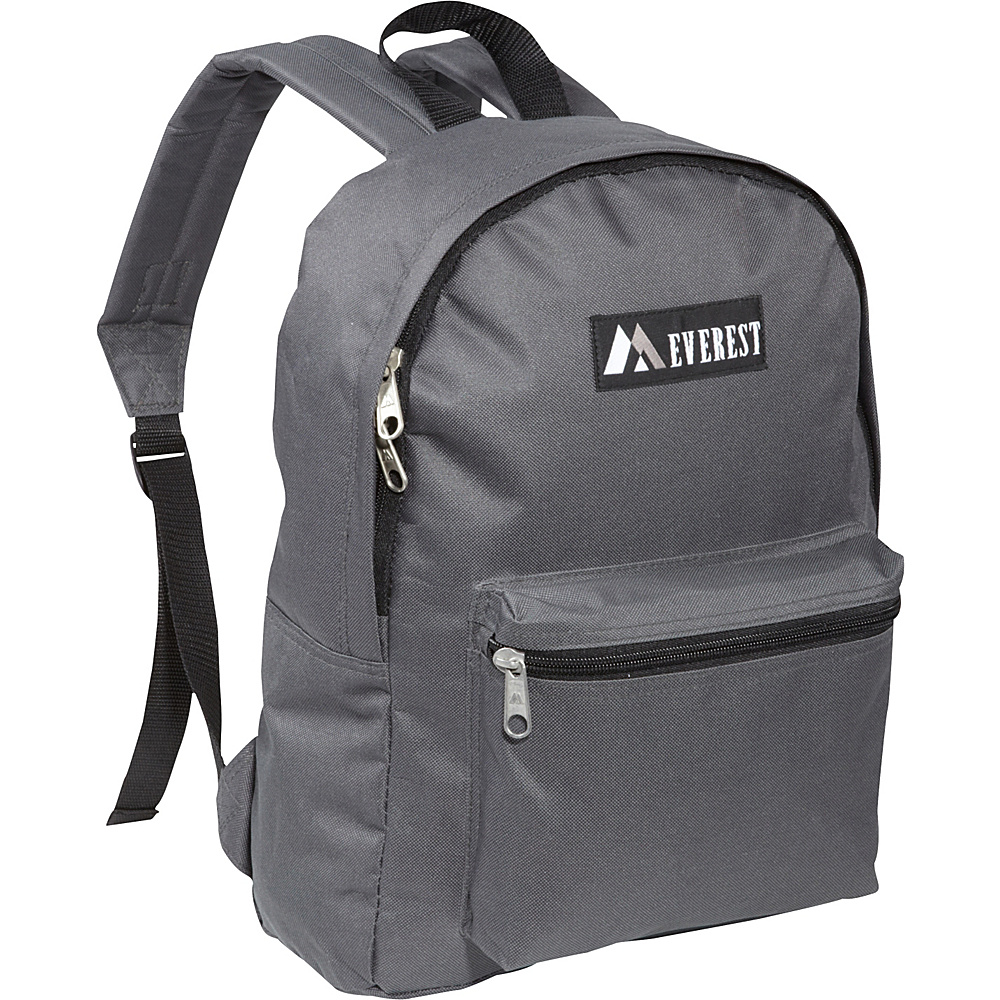 Everest Basic Backpack Charcoal - Everest Everyday Backpacks - Backpacks, Everyday Backpacks