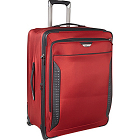 27'' Collapsible Upright Luggage Red Zone
