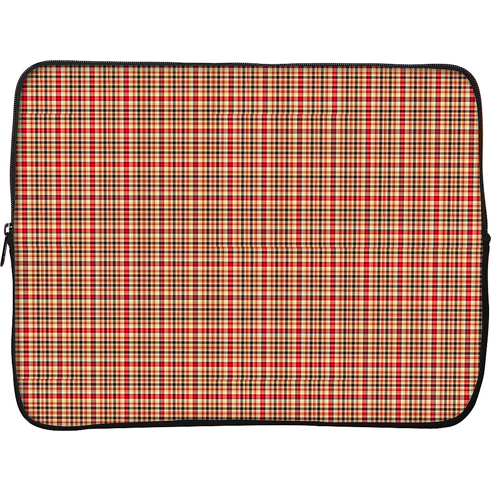 Designer Sleeves 17 Laptop Sleeve by Got Skins? Designer Sleeves Rusty Plaid Designer Sleeves Electronic Cases