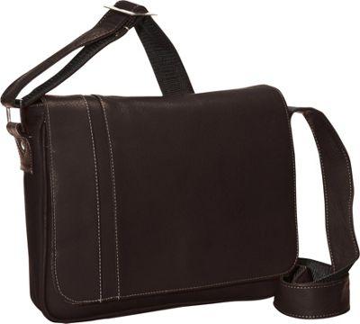 David King & Co. Deluxe Medium iPad Messenger with Inlay Cafe - David King & Co. Messenger Bags