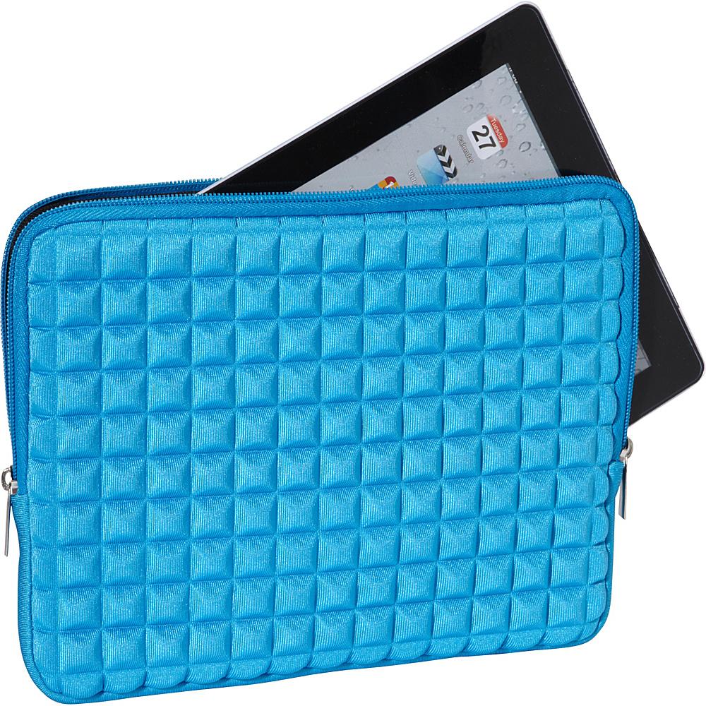 Melie Bianco Pyramid iPad Case Blue - Melie Bianco Laptop Sleeves