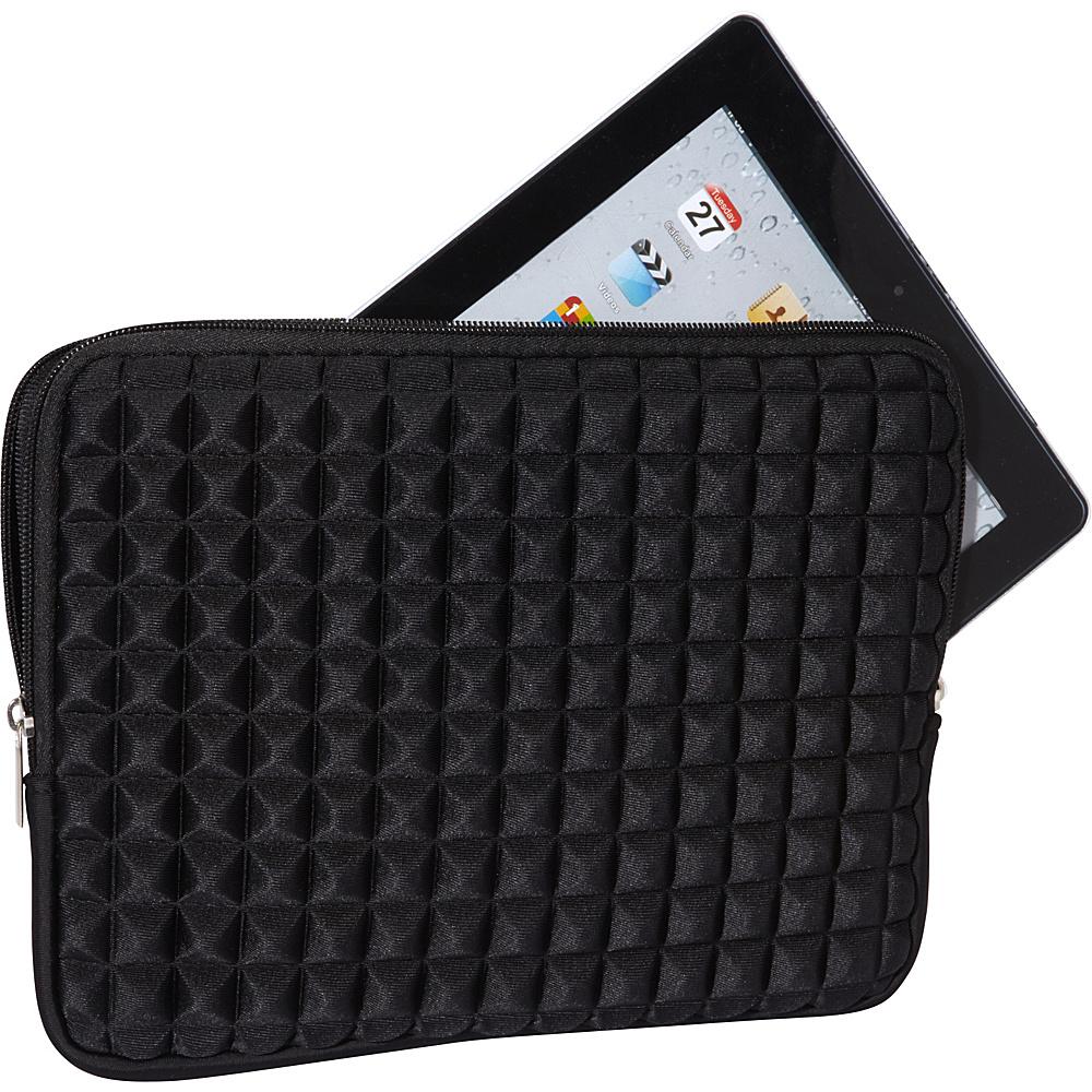 Melie Bianco Pyramid iPad Case Black - Melie Bianco Laptop Sleeves
