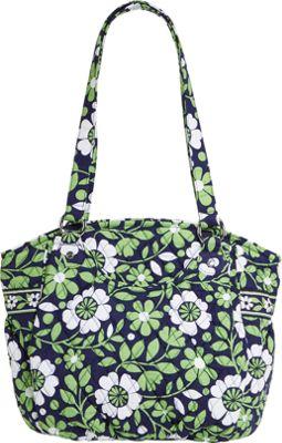 Vera Bradley Glenna Shoulder Bag Lucky You - Vera Bradley Fabric Handbags