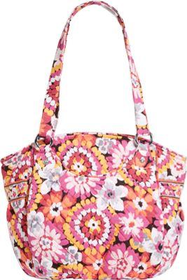 Vera Bradley Glenna Shoulder Bag Pixie Blooms - Vera Bradley Fabric Handbags