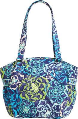 Vera Bradley Glenna Shoulder Bag Katalina Blues - Vera Bradley Fabric Handbags