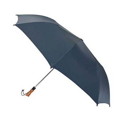 ShedRain ShedRain Jumbo Auto Umbrella -Wood Handle - Navy