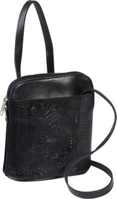 Ropin West Cross-body bag Black - Ropin West Leather Handbags