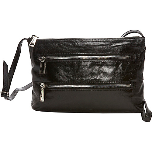 Hobo Mara Black - Hobo Leather Handbags