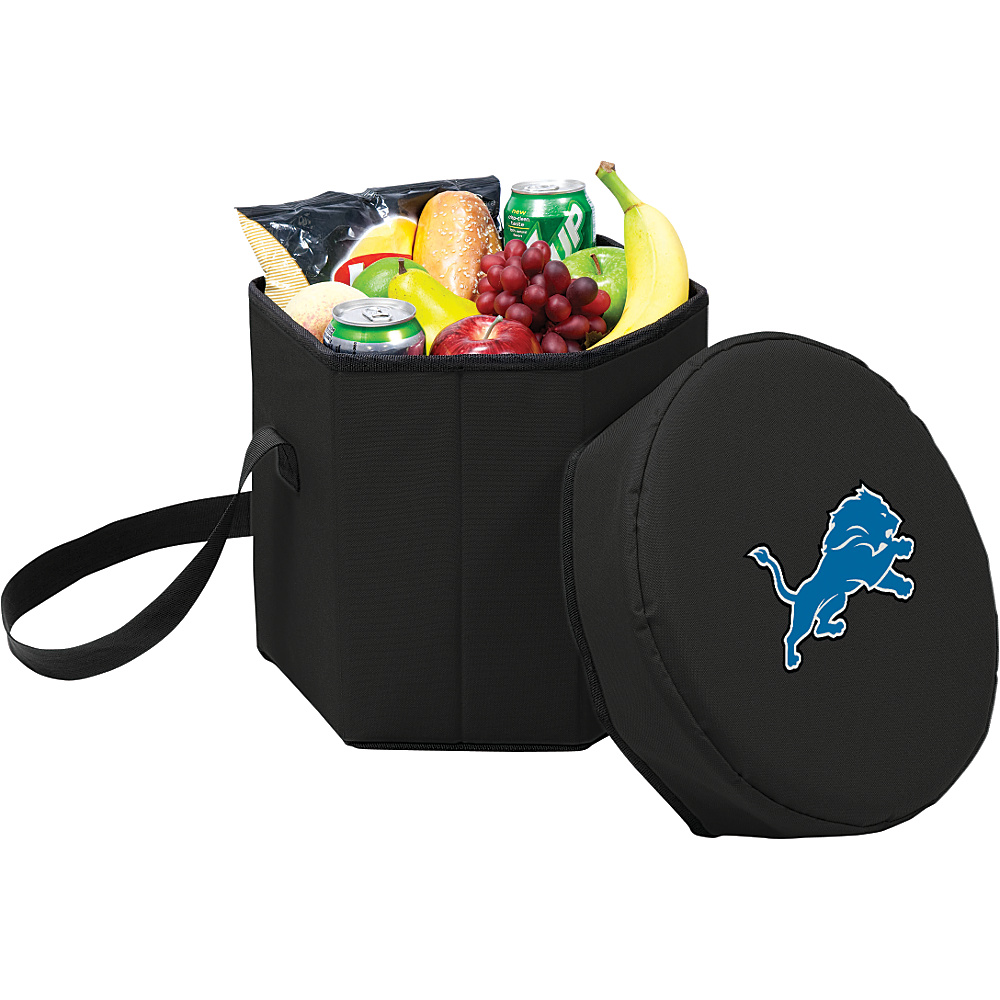 Picnic Time Detroit Lions Bongo Cooler Detroit Lions Black - Picnic Time Outdoor Coolers - Outdoor, Outdoor Coolers