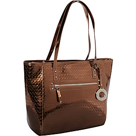 Magic Mirror Large Tote  Bronze/Bronze