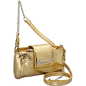 Insta-Glam Mini Tech Crossbody Bright Gold/Bright Gold