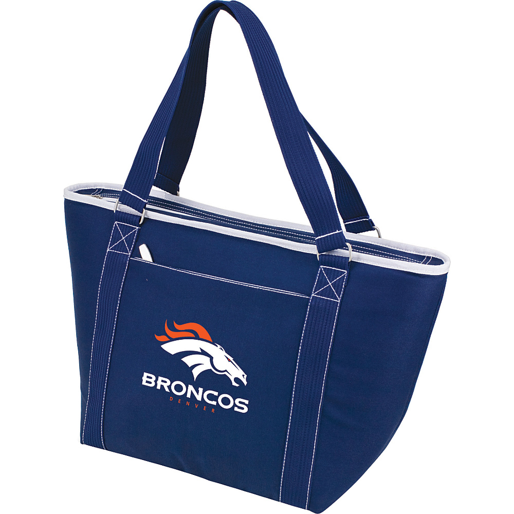 Picnic Time Denver Broncos Topanga Cooler Denver Broncos Navy - Picnic Time Outdoor Coolers - Outdoor, Outdoor Coolers